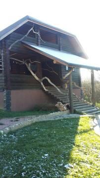 Сдается 2-х этажный деревяный дом 220 кв.м. д. Шилово, Боровский район - Фото 1