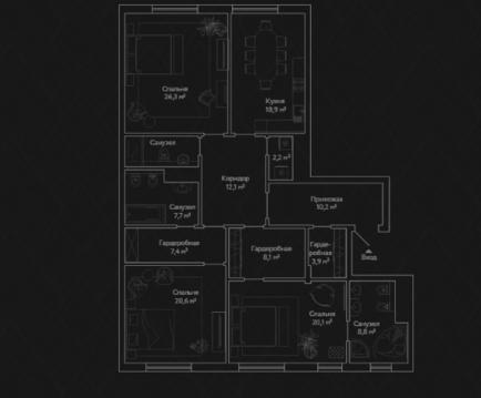Продается элитная квартира в клубном доме класса Delux+ - Фото 4