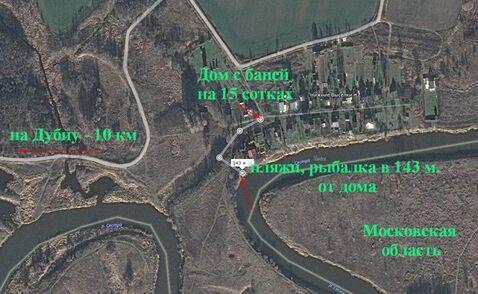 Тишина, экология, река Сестра в дер. Н Выселки Конаковского района - Фото 4