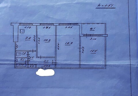 Продам 3-ком.квартиру на ул.Мичурина, д.48 - Фото 5