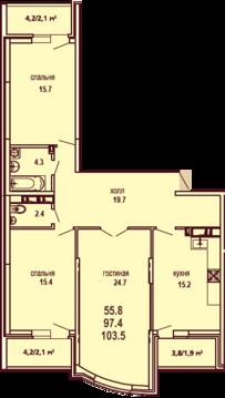 Продам квартиру на гмр - Фото 2