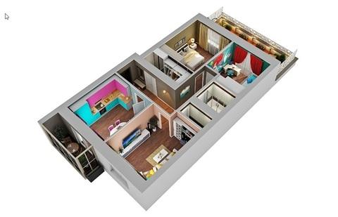 """3 комнатная квартира ЖК """"Арт Сити"""" - Фото 3"""
