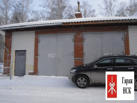 Сдается капитальный гараж большой площади, Академгородок, за ияф - Фото 1