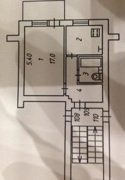 Продается однокомнатная квартира на ул. Фридриха Энгельса - Фото 1