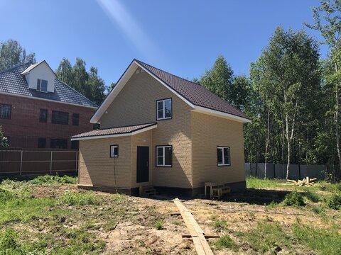 Новый дом, 122 кв.м, пос. Любучаны Чеховский район - Фото 1