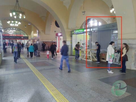 Казанский вокзал. Общепит, торговля, кафе - Фото 1