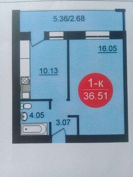 1-комнатная квартира в ЖК Династия