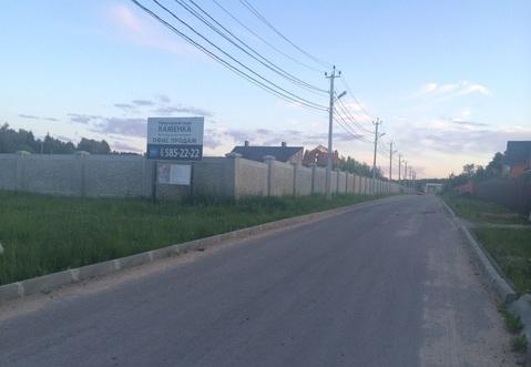 Участок, Киевское ш, Калужское ш, 25 км от МКАД, Каменка д. . - Фото 2