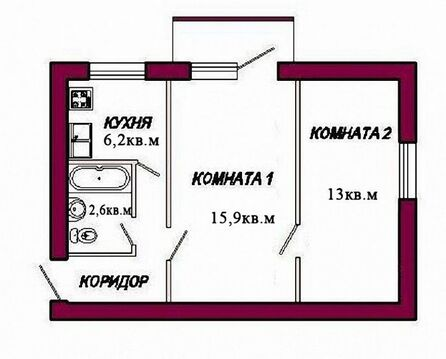 Продается 2 комнатная квартира Куйбышевский район Самара, Соцгород, - Фото 1