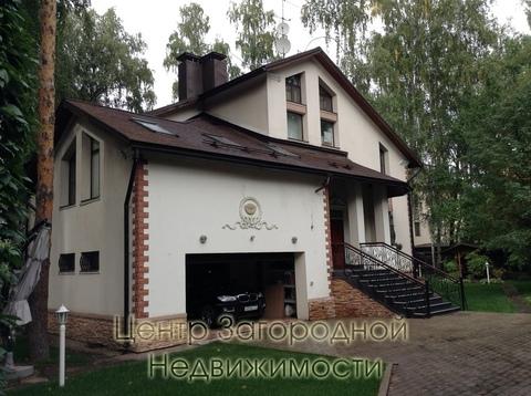 Коттедж, Сколковское ш, 3 км от МКАД, Немчиново д, Коттеджный поселок . - Фото 1