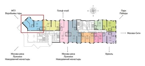 Продажа квартиры, м. Парк Победы, Ул. Мосфильмовская - Фото 3