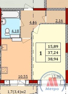 Квартира, ул. Бабича, д.10 к.а, Аренда квартир в Ярославле, ID объекта - 328854421 - Фото 1