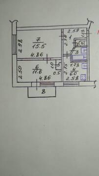 Продам 2-к. кв. 4/5 этажа, пос. Школьное - Фото 4