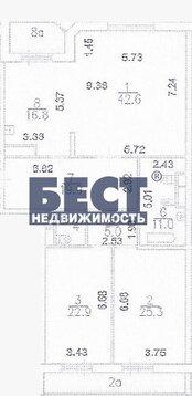 Трехкомнатная Квартира Москва, проспект Мичуринский, д.6, корп.2, ЗАО . - Фото 5