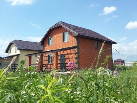 Продается новый дом 160м2 на участке 10сот, с. Малышево, Раменский р-н - Фото 1
