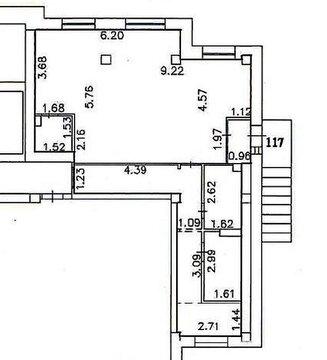Торгово-офисное помещение 71,5 м2 с отдельным входом - Фото 2