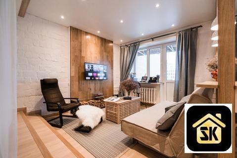 Квартира с дизайн ремонтом ромашка - Фото 3