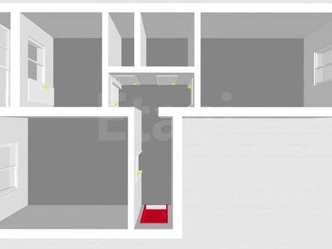 2 100 000 Руб., Продажа двухкомнатной квартиры на улице Артема, 69 в Стерлитамаке, Купить квартиру в Стерлитамаке по недорогой цене, ID объекта - 320177558 - Фото 1