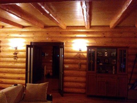 Дом из рубленного бревна под ключ, д. Черная Грязь Калужская область - Фото 3