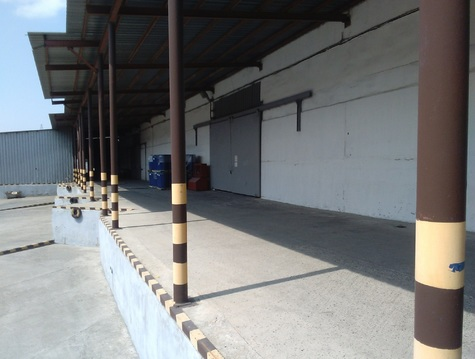 Капитальный склад 1026 кв.м.на въезде в Новороссийск в Цемдолине. - Фото 1