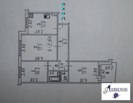 Продаю 3-комнатную квартиру на Лаптева, д.4 - Фото 2
