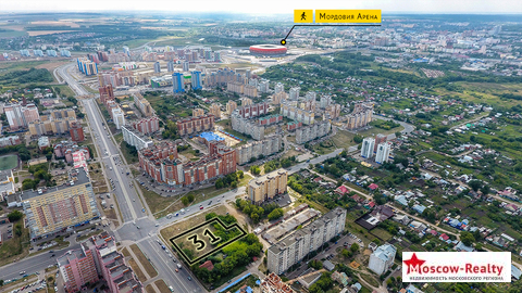 Земельный участок общей площадью 31 сотка в г. Саранск, мкр. Химмаш - Фото 4
