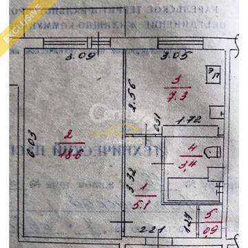 Продажа 1-к квартиры на 4/5 этаже на ул. Балтийской, д. 25 - Фото 3