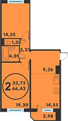 Продажа квартиры, Тюмень, Ул. Кремлевская, Купить квартиру в Тюмени по недорогой цене, ID объекта - 318370136 - Фото 1