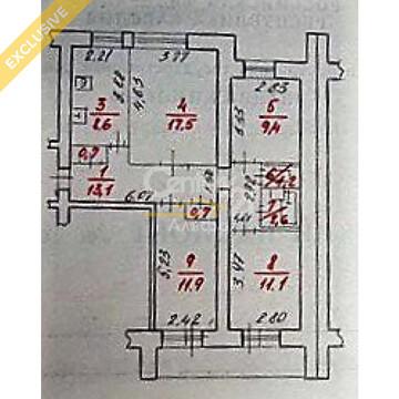 Продажа 4-к квартиры на 1/9 этаже на ул. Мелентьевой, д .30 - Фото 2
