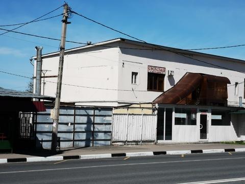 Продается нежилое здание 1200 кв.м. в 100 метрах от МКАД на 1-ой линии - Фото 1