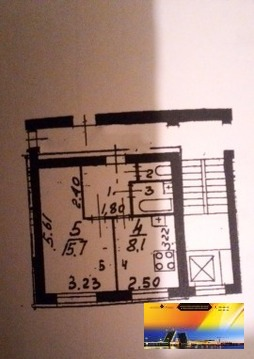 Квартира в Отл.состоянии у метро ул.Дыбенко Недорого - Фото 3