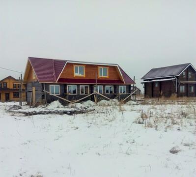 Новый рубленый дом в Дружино мкр Александровская усадьба - Фото 1