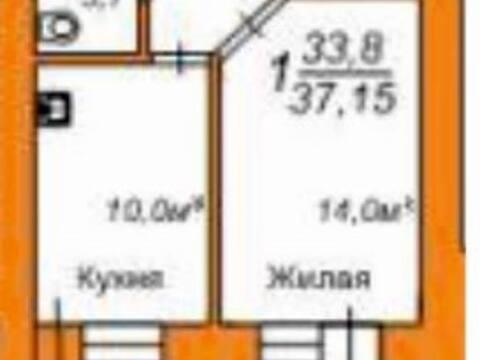 1 720 000 Руб., Продажа однокомнатной квартиры в новостройке на улице Пушкина, 108 в ., Купить квартиру в Благовещенске по недорогой цене, ID объекта - 319714799 - Фото 1
