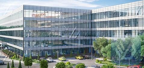 Сдам офис 110 кв.м, бизнес-центр класса B+ «БЦ Симонов Плаза» - Фото 1