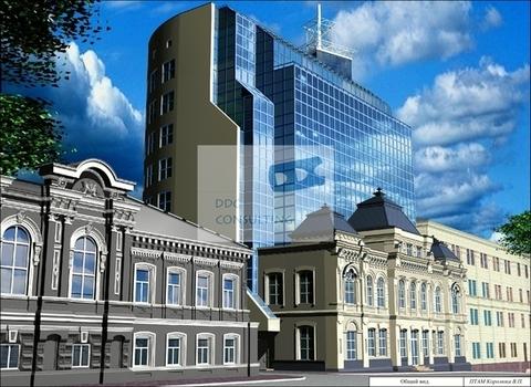 Офис 52,6 кв.м. в бизнес-центре на пер.Газетный - Фото 1