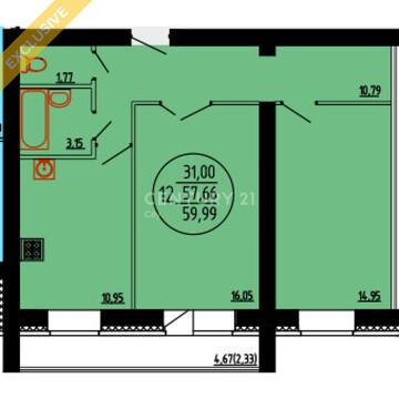2-х комнатная квартира г.Кунгур ул.Шоссейная 45 - Фото 4