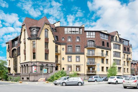 Современная двухуровневая квартира площадью 254,3 кв.м - Фото 1
