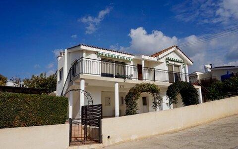 Прекрасная 3-спальная Вилла в живописном районе Пафоса - Фото 1