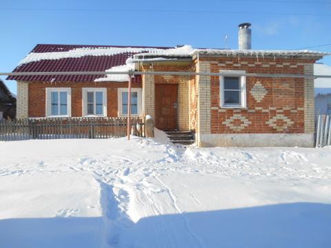Кирпичный дом 75 кв.м д.Брусяновка - Фото 1