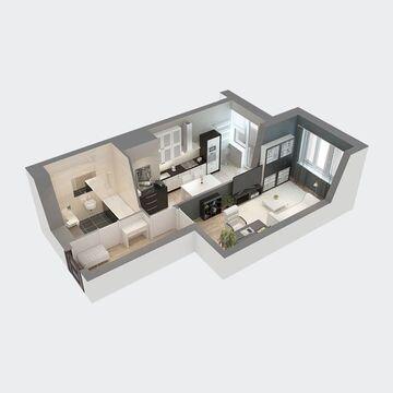 Продажа квартиры, Пенза, Ул. Антонова, Купить квартиру в Пензе по недорогой цене, ID объекта - 326427265 - Фото 1