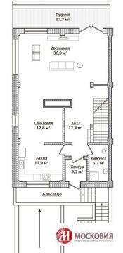 Дуплекс 237 кв.м, 3 уровня - Фото 5