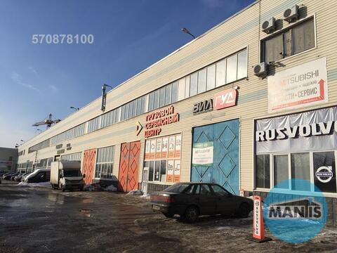 Сдается автосервис с высокими потолками 12 метров, две кран балки по 1 - Фото 1