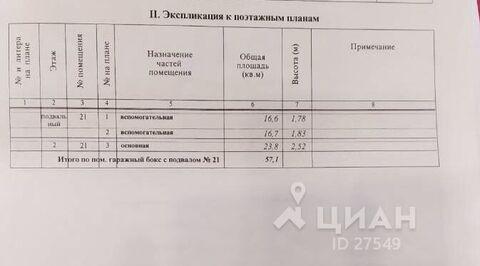 Продажа гаража, Подольск, Цементный проезд - Фото 1