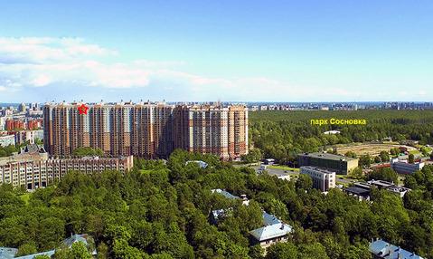 Видовая 2-комн.кв. 63.5м, 25/25-эт. кирп. дома, панорама на город - Фото 1