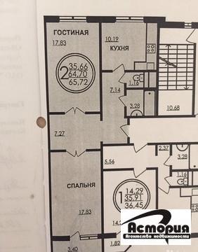 2 комнатная квартира ул. Садовая 5 к.1 - Фото 1