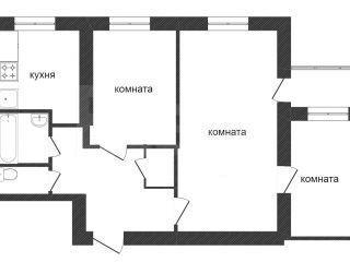Продам 3-комн. кв. 52 кв.м. Пенза, Калинина