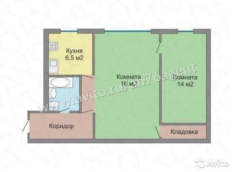 2х-комнатная квартира в пос. Михайловский - Фото 3