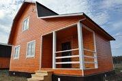 Новый теплый дом 85 кв.М. на участке 13 сот, д.финеево, ДНТ. - Фото 1