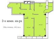 2-х комнатная квартира 66,2 кв.м, 5 эт, г. Озеры Микрорайон 1а д. 5 . - Фото 3