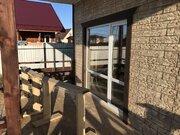 Кабицыно Васильки одноэтажный зимний дом из пеноблоков - Фото 1